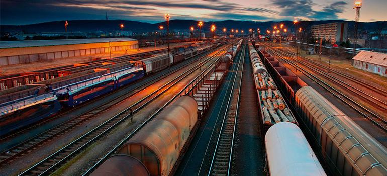 Доставка из Китая железной дорогой