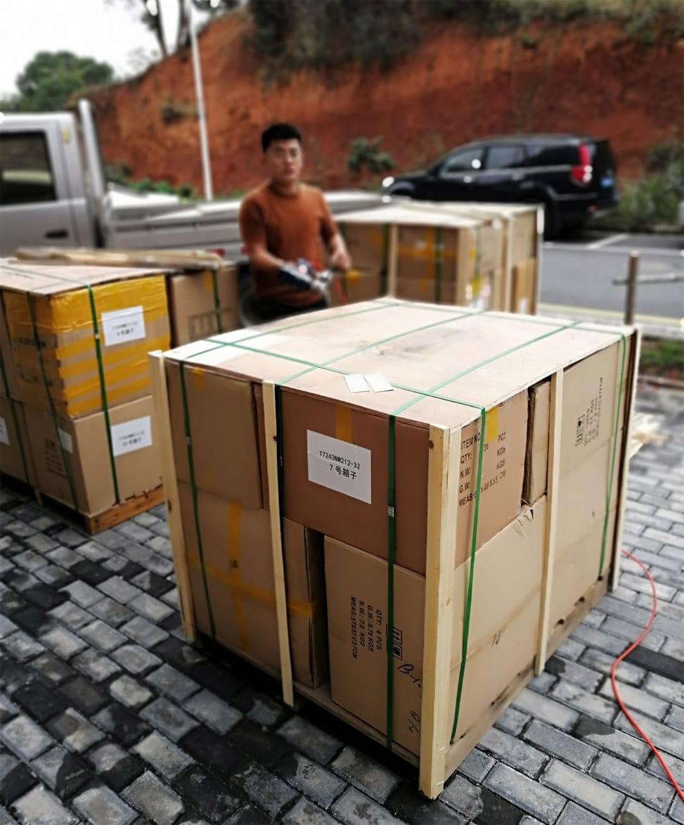 Доставка радиодеталей из Китая