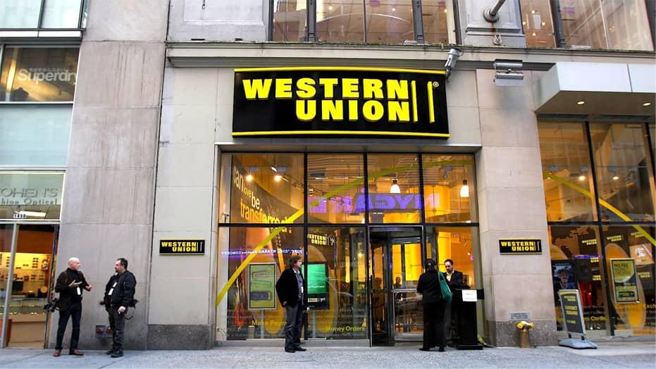 система международных денежных переводов между частными лицами Western Union
